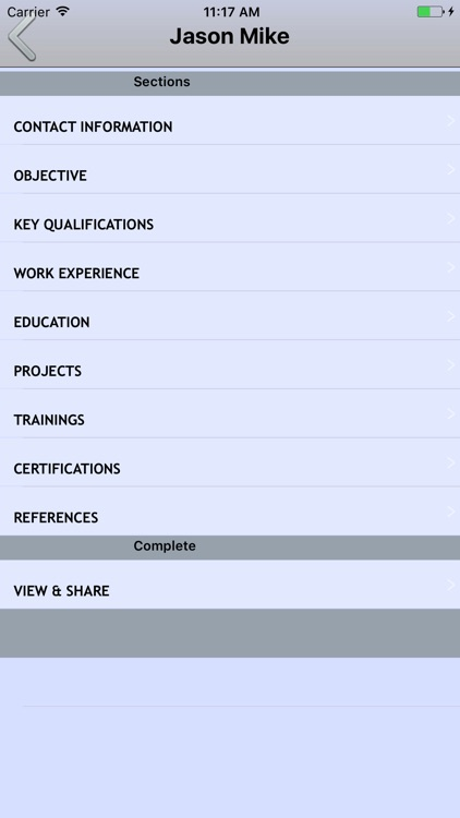 Resume Builder :Cv Maker screenshot-2