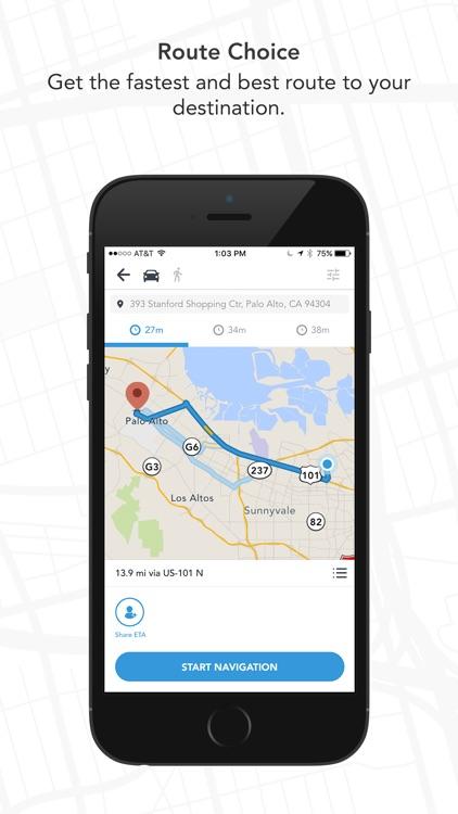 Scout GPS, ETA, Maps & Traffic screenshot-3