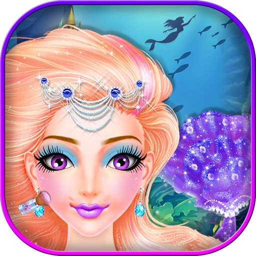 Royal Mermaid Princess Salon