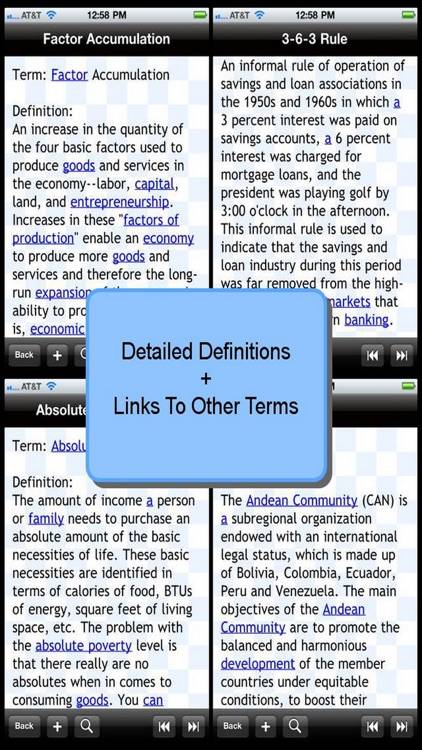Glossary of Economic Terms screenshot-0