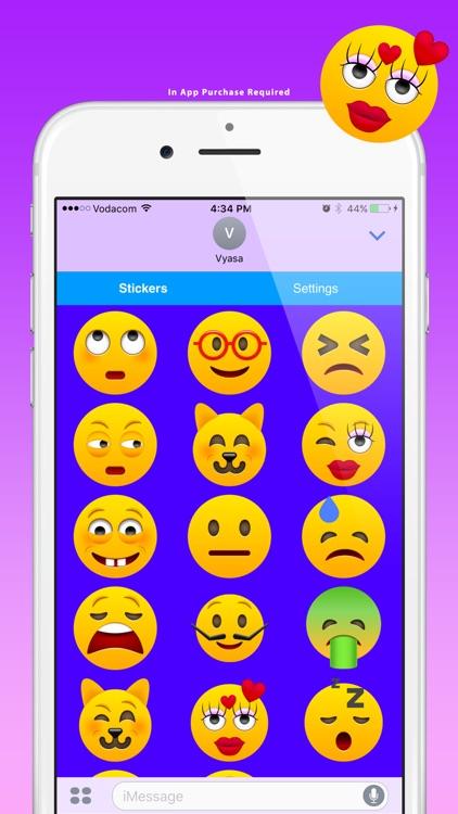 Modern Emoji Stickers for Texting screenshot-4