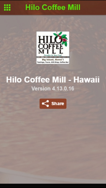 Hilo Coffee Mill - Hawaii