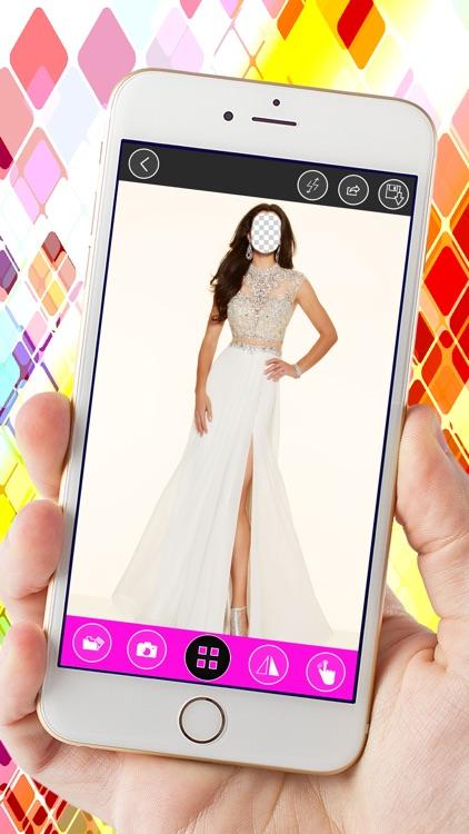 Prom Dress Photo Montage: Long Dress Fashion