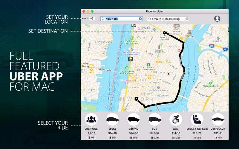 iRide for Uber скриншот программы 1