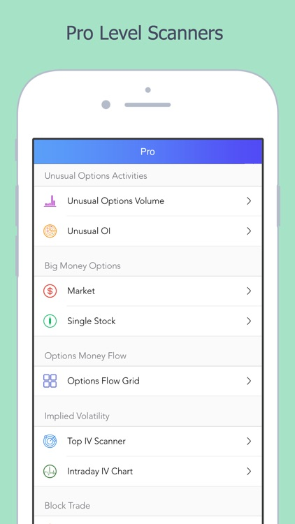 Watchlist: stock market quotes in stocks & options screenshot-4