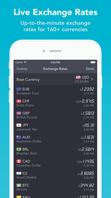 iCurrency Pad  ~  The Currency Exchange Rates Converter Screenshot 3