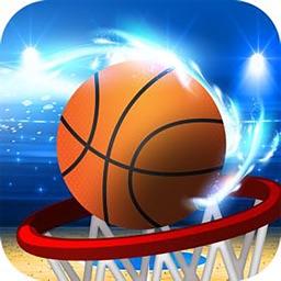 儿童体育游戏之宝宝爱投篮-幼儿园宝贝益智篮球游戏
