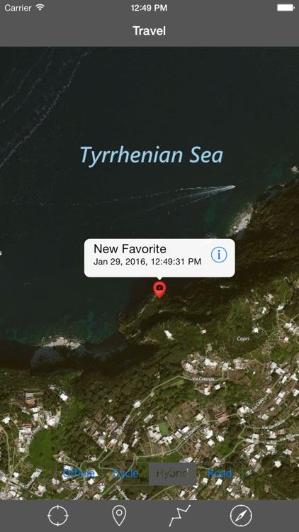 ISOLA DI CAPRI – GPS Travel Map Offline Navigator screenshot-3