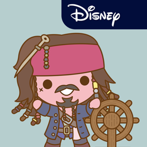Disney Stickers: Pirates of the Caribbean app