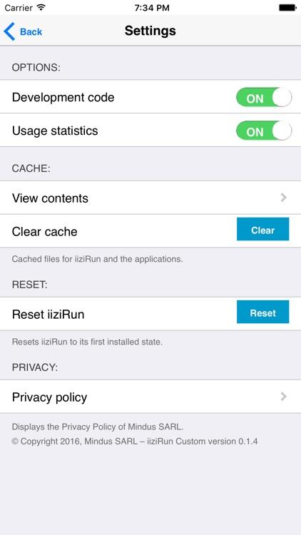 iiziRun Custom screenshot-3