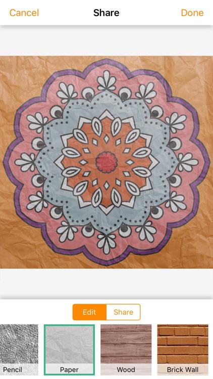 Mandala Coloring Book 4 Adults screenshot-4