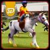 競馬 3 D シミュレータは - 実質のダービーと馬術スポーツ シミュレーション ゲーム