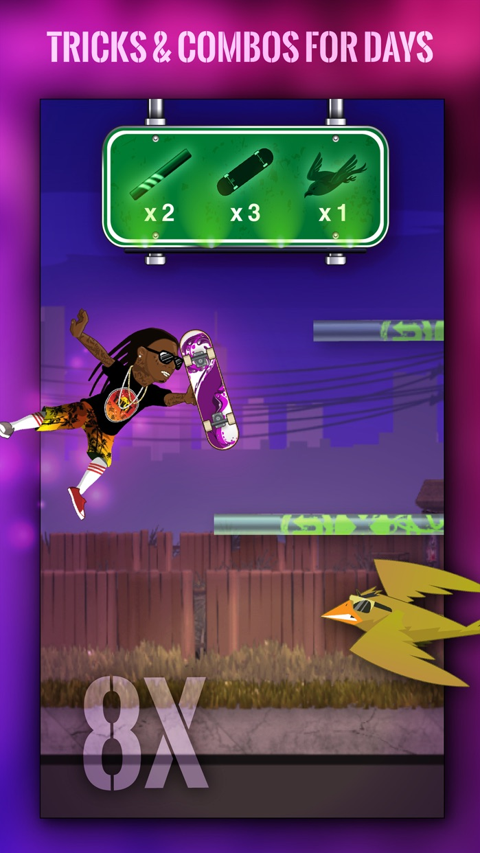 Free Weezy - Lil Wayne's Sqvad Up Screenshot