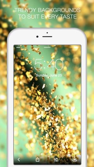 Glitter photo background app