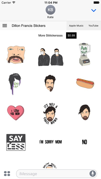 Dillon Francis Stickers