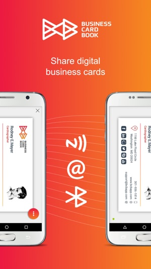 Business card book on the app store business card book on the app store colourmoves