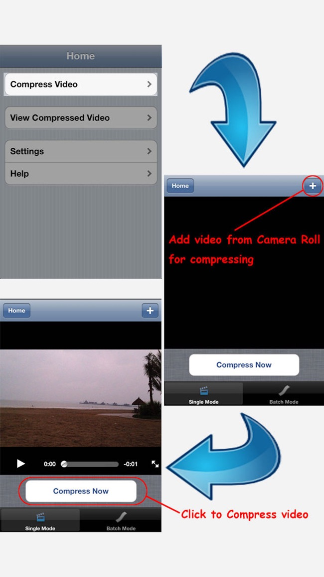 Compress Video - Free the Space Screenshot