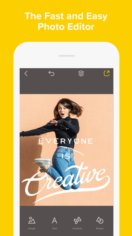 Over— Edit Photos, Add Text & Captions to Pictures screenshot-0