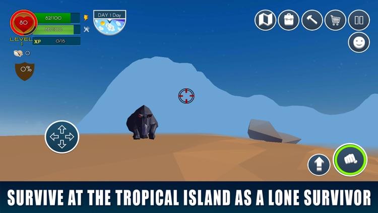 Tropical Forest Survival Simulator