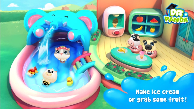 Dr. Panda Swimming Pool