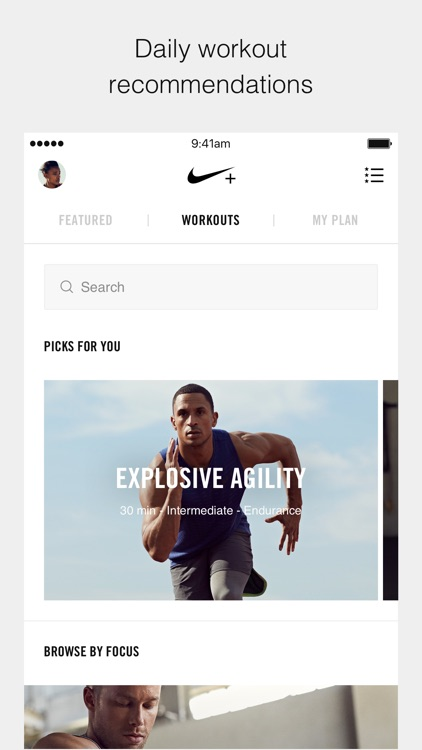 Nike+ Training Club –Workouts & Fitness Plans screenshot-3