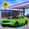 スポーツカーガソリンスタンド駐車場 - 高速道路運転 - iPhoneアプリ