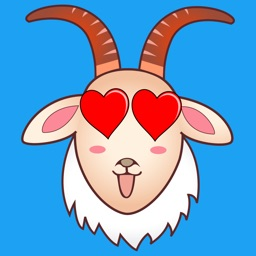 Goats Emojis & Stickers - Goat Moji