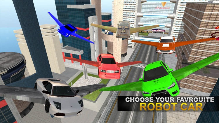 Real Robot Fighting VS Flying Car Games screenshot-4