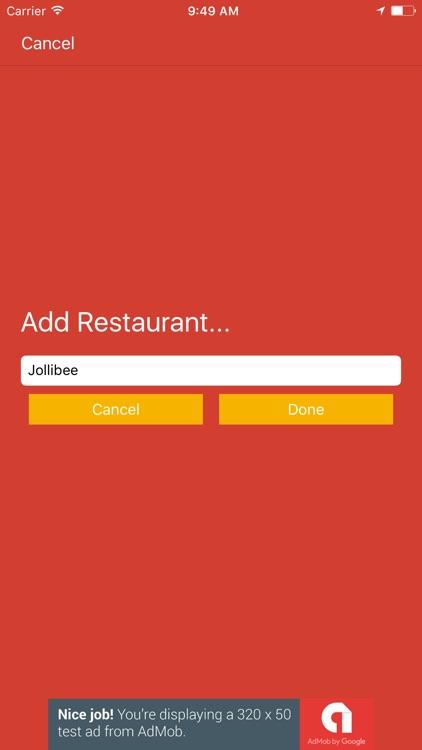 Shake Eat Off - Restaurant Decider