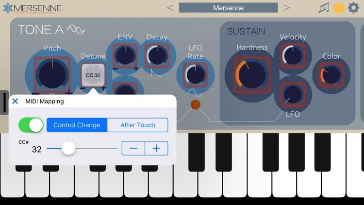 Mersenne Synthesizer screenshot-4