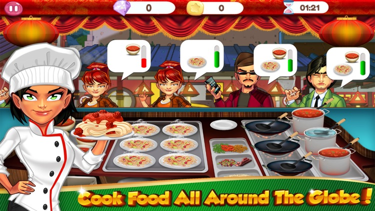 Cooking Games Pizza Fast Food Maker & Kitchen Chef screenshot-2