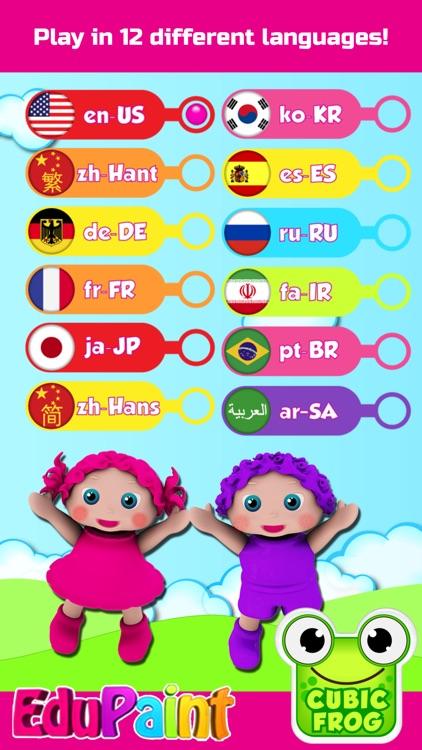 Coloring Games,Painting Book for Toddlers-EduPaint screenshot-4