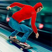 Skate Board Revolution . Subway Riders