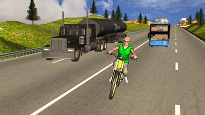 Bicycle Rider Traffic Racer 17 screenshot two