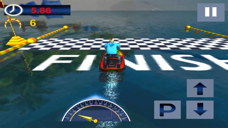 Speed Boat Ocean Ride Simulation screenshot-4