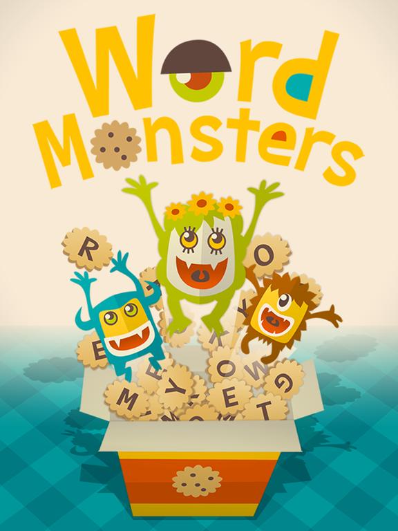 Word Monsters на iPad