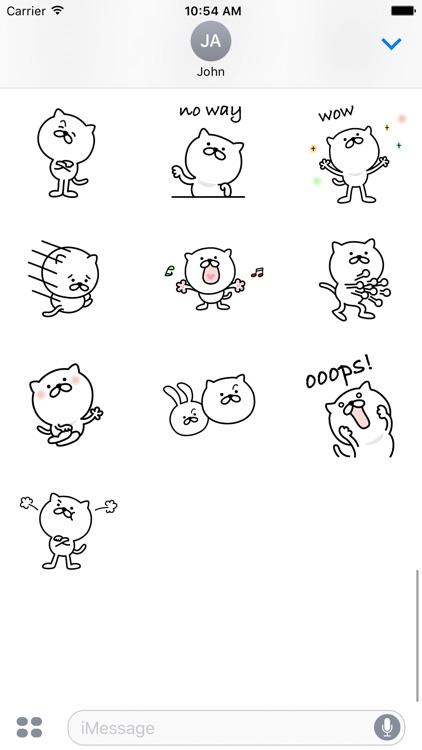 Pretty Cat Sticker 3 screenshot-3