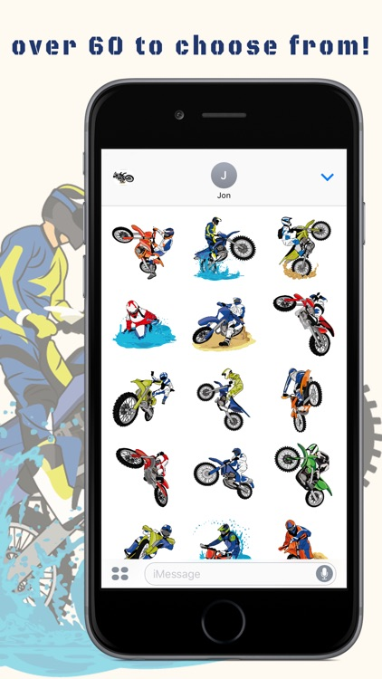 BraaapMoji Motorcycle MX Emojis & Stickers