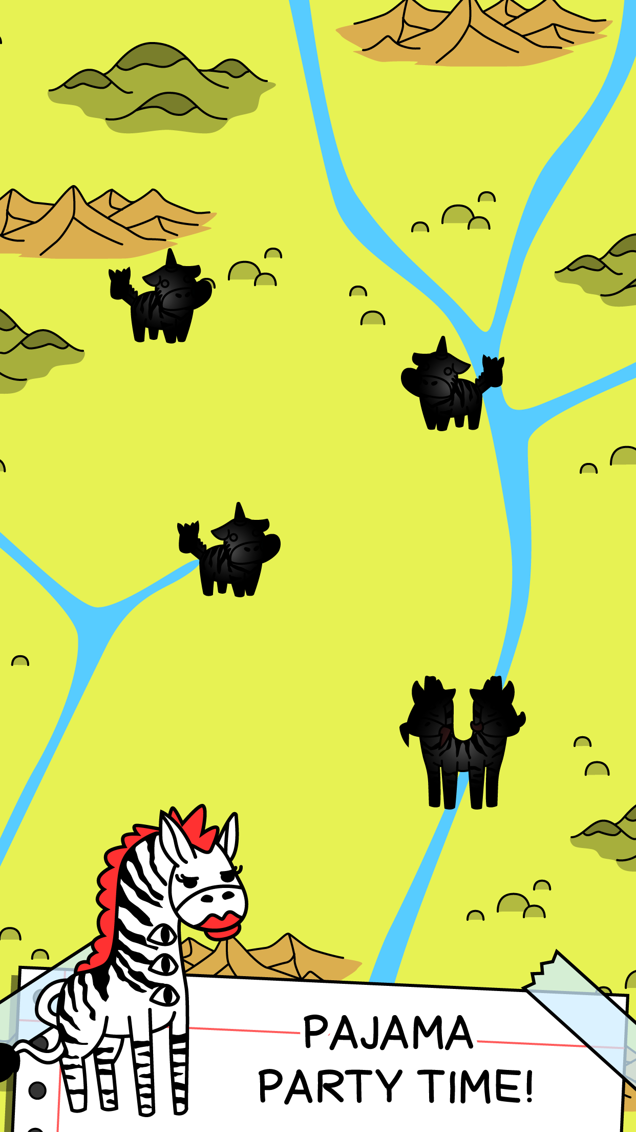 Zebra Evolution | Mutant Zebra Clicker Game Screenshot