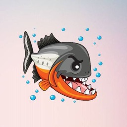 Piranha Stickers