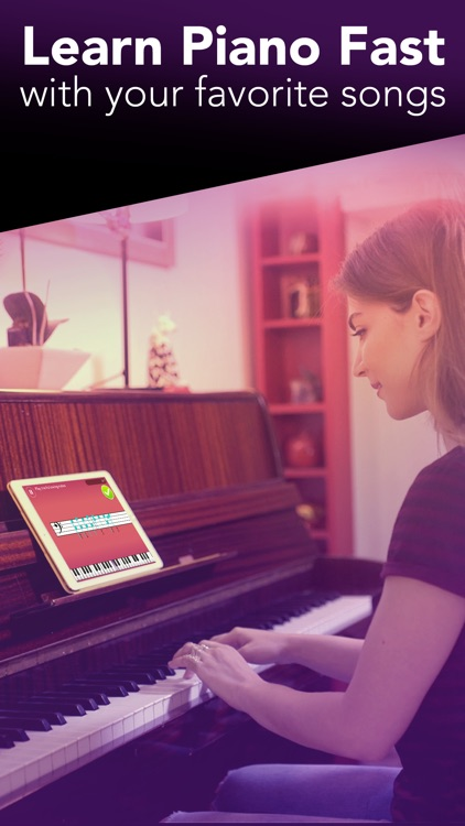 Simply Piano by JoyTunes - Learn & play piano app image