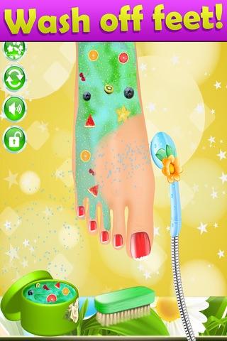 Summer Nail Spa Makeover Games - náhled