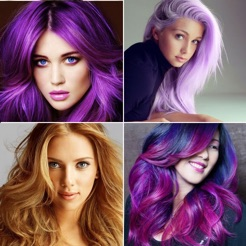 Salon Styler: Beautiful Hair Color Ideas for Girls on the App Store