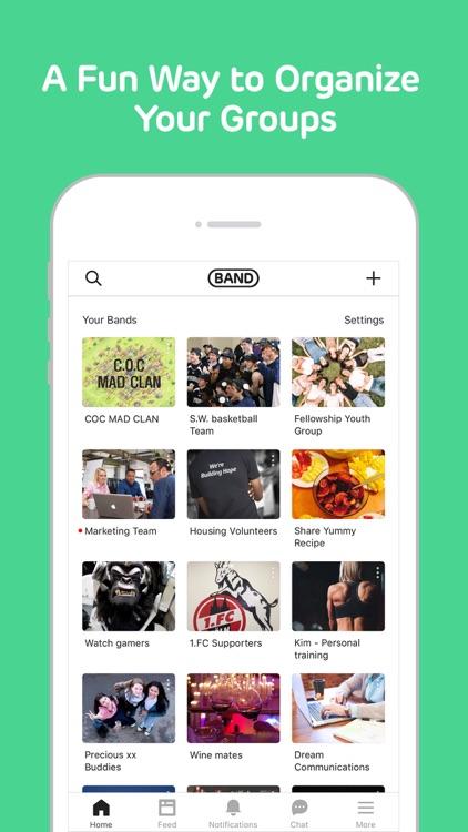 BAND - Organize your groups screenshot-0
