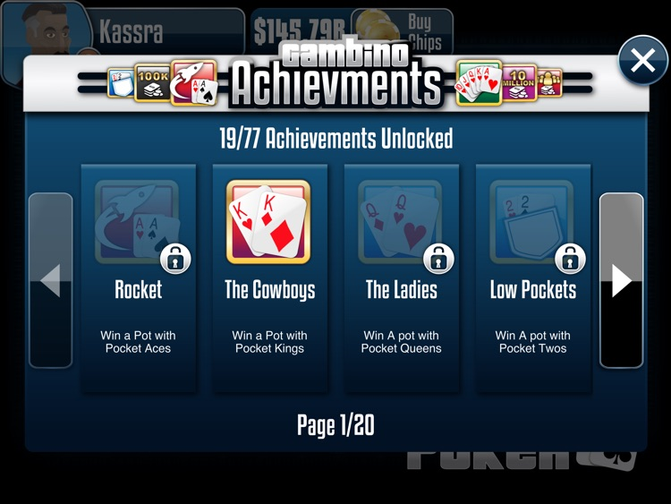 Gambino Poker HD screenshot-3