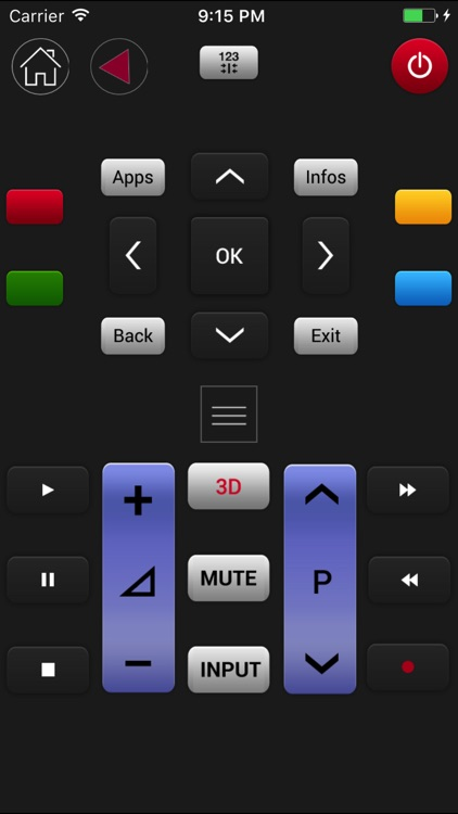 LGeeRemote: Remote For LG TV (smart tv and webos) screenshot-3