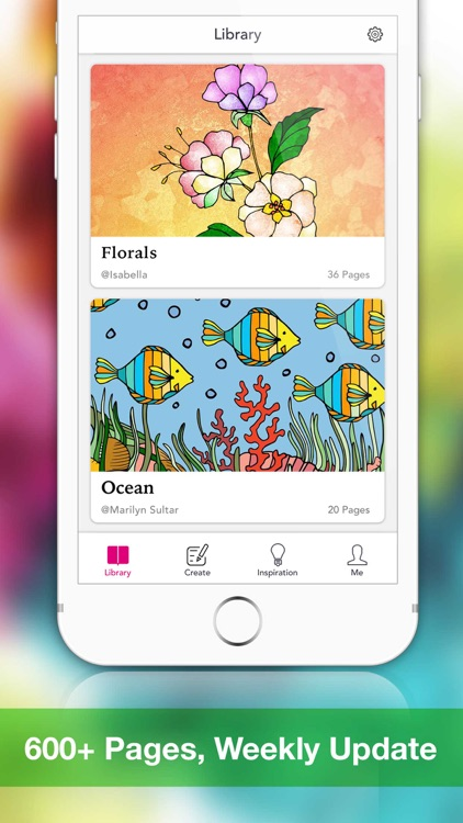 Coloringle - Coloring Book for Adult & Girl