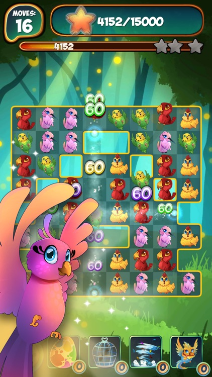 Birds 2: Free Match 3 Party Puzzle Game