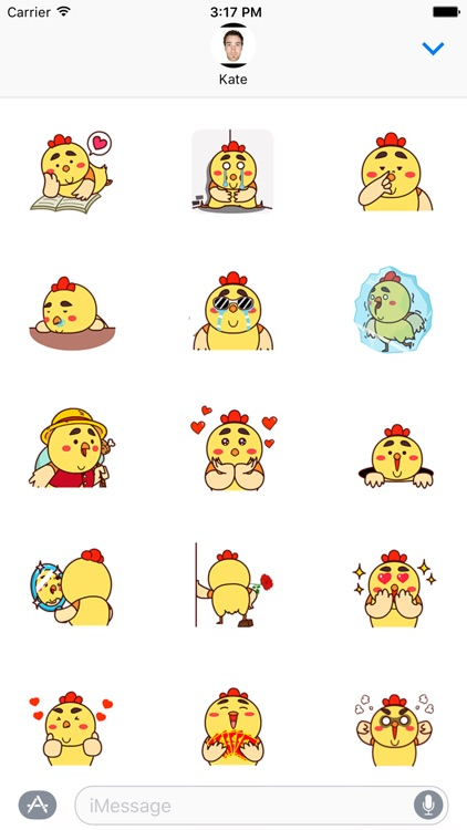 Fat Chicken Animated Stickers v2
