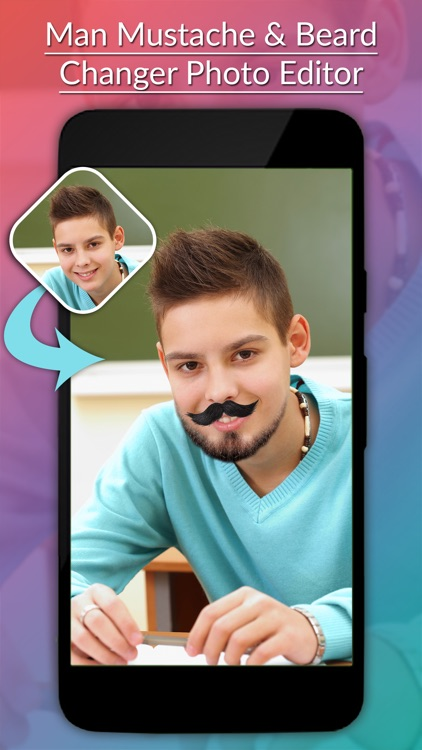 Man Mustache & Beard Photo Editor screenshot-1
